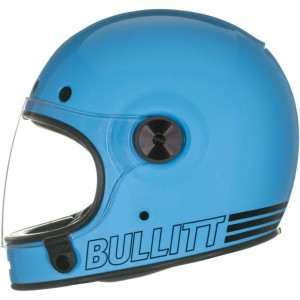 CASCO CUSTOM INTEGRAL BELL BULLIT RETRO BLUE